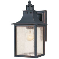 Savoy House Monte Grande 1 Light Wall Lantern in Slate 5-254-25