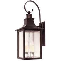 Monte Grande 4 Light 35 inch English Bronze Outdoor Wall Lantern