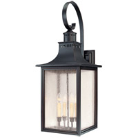 Monte Grande 4 Light 35 inch Slate Outdoor Wall Lantern