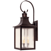 Monte Grande 3 Light 27 inch English Bronze Outdoor Wall Lantern