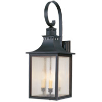 Monte Grande 3 Light 27 inch Slate Outdoor Wall Lantern