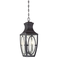 Savoy House 5-263-213 Shelton 2 Light 8 inch English Bronze with Gold Outdoor Hanging Lantern