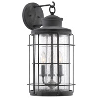 Savoy House 5-2671-88 Fletcher 3 Light 21 inch Oxidized Black Outdoor Wall Lantern