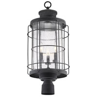 Savoy House 5-2672-88 Fletcher 3 Light 25 inch Oxidized Black Outdoor Post Lantern alternative photo thumbnail