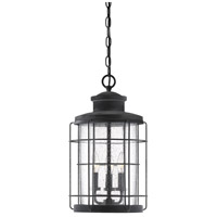 Savoy House 5-2673-88 Fletcher 3 Light 11 inch Oxidized Black Outdoor Hanging Lantern