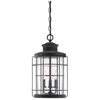 Savoy House 5-2673-88 Fletcher 3 Light 11 inch Oxidized Black Outdoor Hanging Lantern