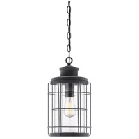 Savoy House 5-2674-88 Fletcher 1 Light 9 inch Oxidized Black Outdoor Hanging Lantern