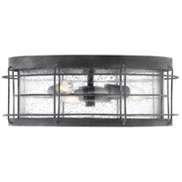 Savoy House 5-2675-88 Fletcher 3 Light 14 inch Oxidized Black Outdoor Flush Mount