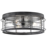 Savoy House 5-2675-88 Fletcher 3 Light 14 inch Oxidized Black Outdoor Flush Mount alternative photo thumbnail