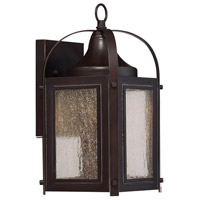 Formby LED 12 inch English Bronze with Gold Outdoor Wall Lantern