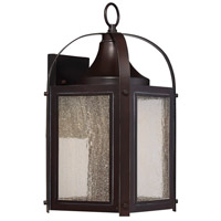 Formby LED 16 inch English Bronze with Gold Outdoor Wall Lantern