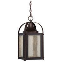 Formby LED 8 inch English Bronze with Gold Outdoor Hanging Lantern