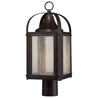 Savoy House Formby LED Post Lantern in English Bronze W/ Gold 5-333-213