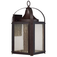 Formby LED 9 inch English Bronze/Gold Lantern Ceiling Light in Clear Seeded