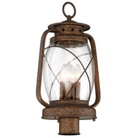 Savoy House 5-3413-56 Smith Mountain 4 Light 21 inch New Tortoise Shell Outdoor Post Lantern alternative photo thumbnail