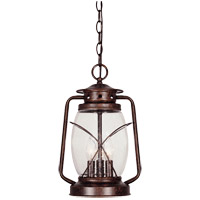 Savoy House Smith Mountain 3 Light Outdoor Hanging Lantern in New Tortoise Shell 5-3414-56