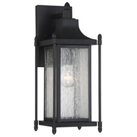 Savoy House 5 3451 Bk Dunnmore 1 Light 16 Inch Black