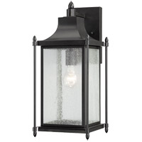 Savoy House Dunnmore 1 Light Outdoor Wall Lantern in Black 5-3452-BK