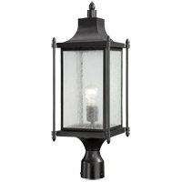 Savoy House Dunnmore 1 Light Outdoor Post Lantern in Black 5-3454-BK