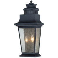 Savoy House Barrister 2 Light Outdoor Wall Lantern in Slate 5-3553-25