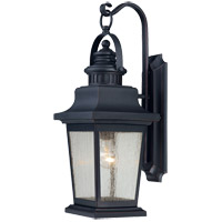 Savoy House 5-3554-25 Barrister 1 Light 23 inch Slate Outdoor Wall Lantern in Clear Seeded photo thumbnail