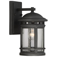 Savoy House Upton 1 Light Wall Lantern in Black 5-360-BK