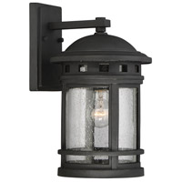 Savoy House Upton 1 Light Wall Lantern in Black 5-361-BK