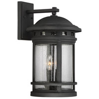 Upton 2 Light 19 inch Black Outdoor Wall Lantern