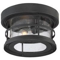 Savoy House 5-369-10-BK Barrett 1 Light 10 inch Black Outdoor Flush Mount alternative photo thumbnail