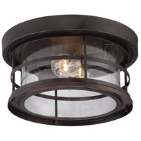 Savoy House 5-369-13-13 Barrett 2 Light 13 inch English Bronze Outdoor Flush Mount alternative photo thumbnail