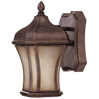 Savoy House Realto 1 Light CFL Outdoor Wall Lantern in Walnut Patina 5-3800-FL-40 photo thumbnail