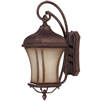 Savoy House Realto 1 Light CFL Outdoor Wall Lantern in Walnut Patina 5-3801-FL-40