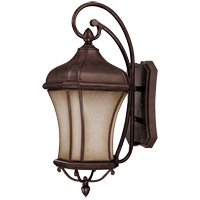 Savoy House Realto 1 Light CFL Outdoor Wall Lantern in Walnut Patina 5-3802-FL-40