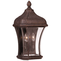 Realto 2 Light 19 inch Walnut Patina Pocket Lantern in Clear Beveled