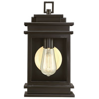 Reading 1 Light 13 inch English Bronze Outdoor Wall Lantern