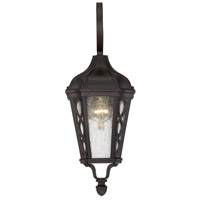 Hamilton 1 Light 20 inch English Bronze Outdoor Wall Lantern in Seeded