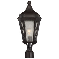 Hamilton 1 Light 22 inch English Bronze Outdoor Post Lantern