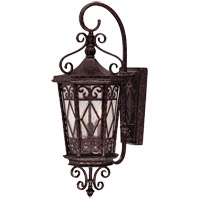 Felicity 3 Light 26 inch New Tortoise Shell Outdoor Wall Lantern in Pale Cream Textured