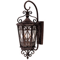 Felicity 3 Light 31 inch New Tortoise Shell Outdoor Wall Lantern in Pale Cream Textured