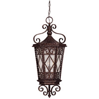 Felicity 3 Light 12 inch New Tortoise Shell Outdoor Hanging Lantern