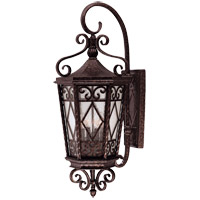 Felicity 4 Light 36 inch New Tortoise Shell Outdoor Wall Lantern in Pale Cream Textured