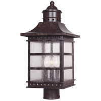 Savoy House Seafarer 3 Light Outdoor Post Lantern in Rustic Bronze 5-443-72 photo thumbnail