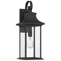 Savoy House 5-451-BK Hancock 1 Light 23 inch Matte Black Outdoor Sconce