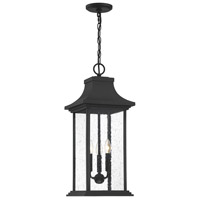 Savoy House 5-453-BK Hancock 3 Light 11 inch Matte Black Outdoor Pendant