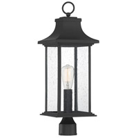 Savoy House 5-454-BK Hancock 1 Light 24 inch Matte Black Outdoor Post Lantern