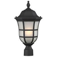 Ashburn 1 Light 20 inch Black Outdoor Post Lantern
