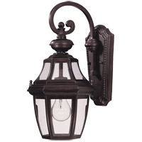 Endorado 1 Light 16 inch English Bronze Outdoor Wall Lantern