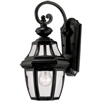 Endorado 1 Light 16 inch Black Outdoor Wall Lantern