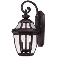 Endorado 2 Light 20 inch English Bronze Outdoor Wall Lantern