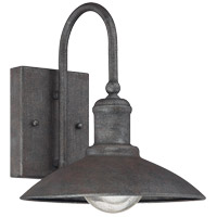 Savoy House Mica 1 Light Outdoor Wall Lantern in Artisan Rust 5-5030-1-32